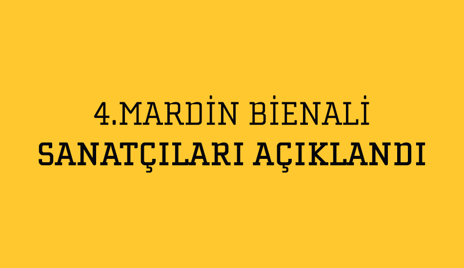 4th Mardin Biennial Artists was Declared